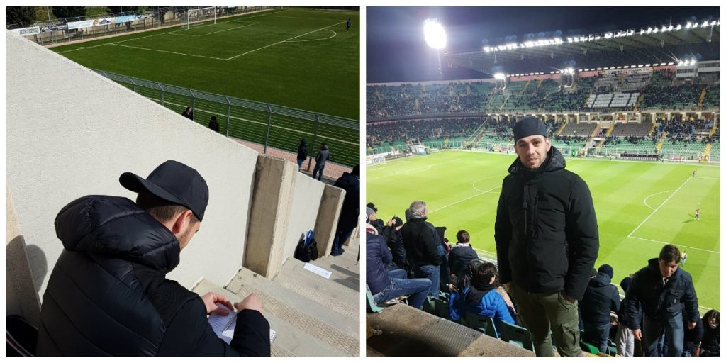 bruno randazzo, Bruno: il calcio e un sogno che si avvera, Sport Business Academy